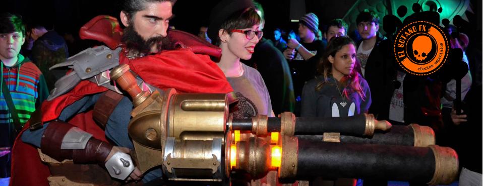 Realización de vestuario + réplica de arma de Graves, personaje del videojuego League of Legends LoL (2015)