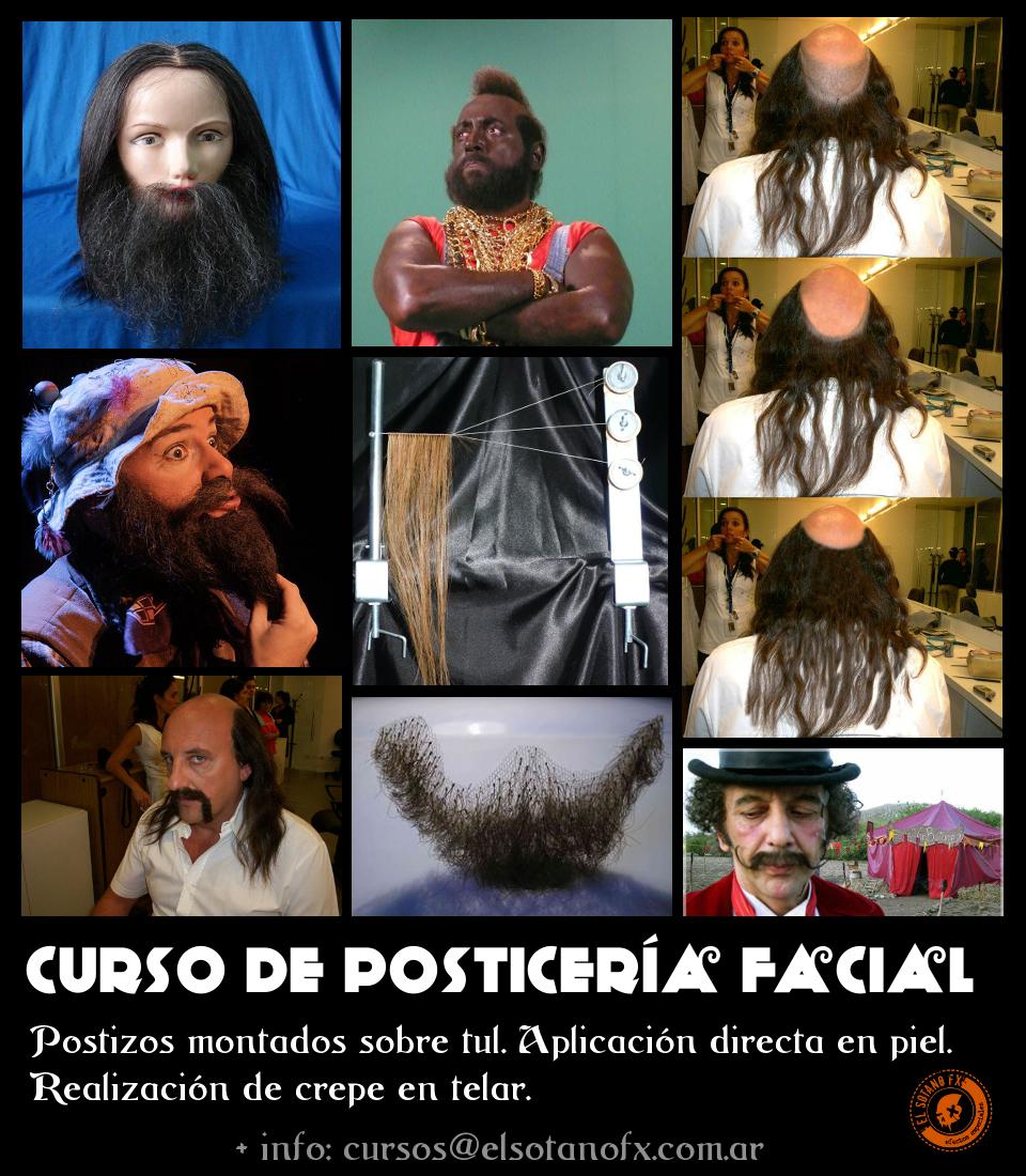 Curso de Posticeria facial